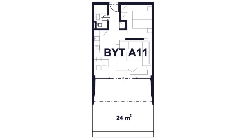 Apartmán A11