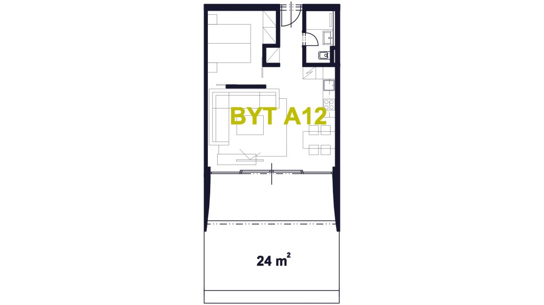 Apartmán A12
