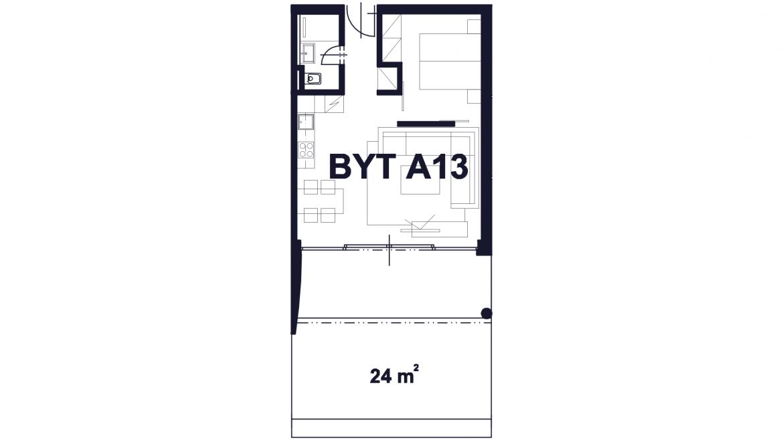 Apartmán A13