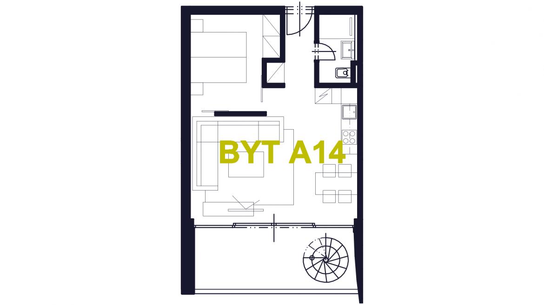 Apartmán A14