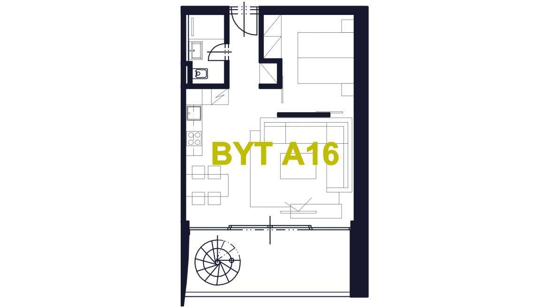 Apartmán A16