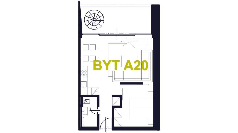 Apartmán A20