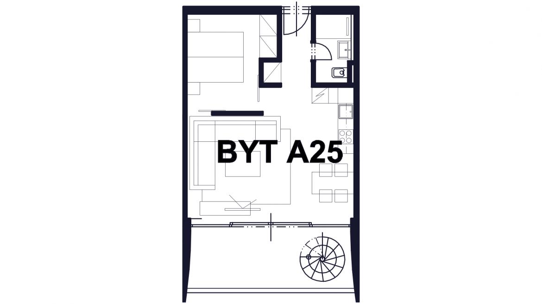 Apartmán A25
