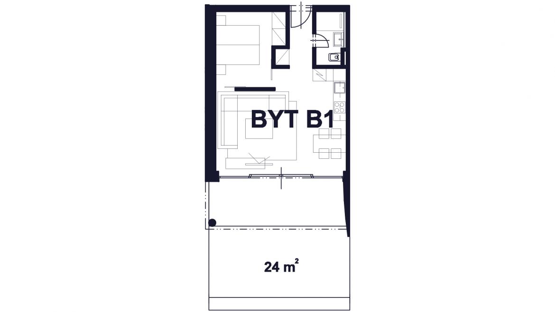 Apartmán B1