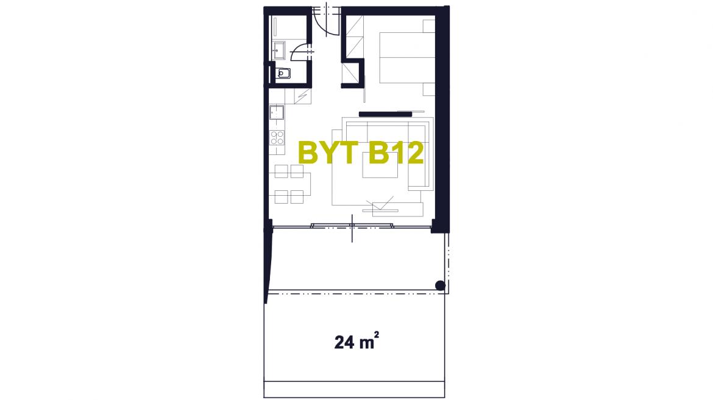 Apartmán B12