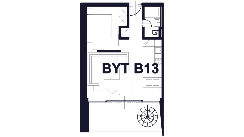 Apartmán B13