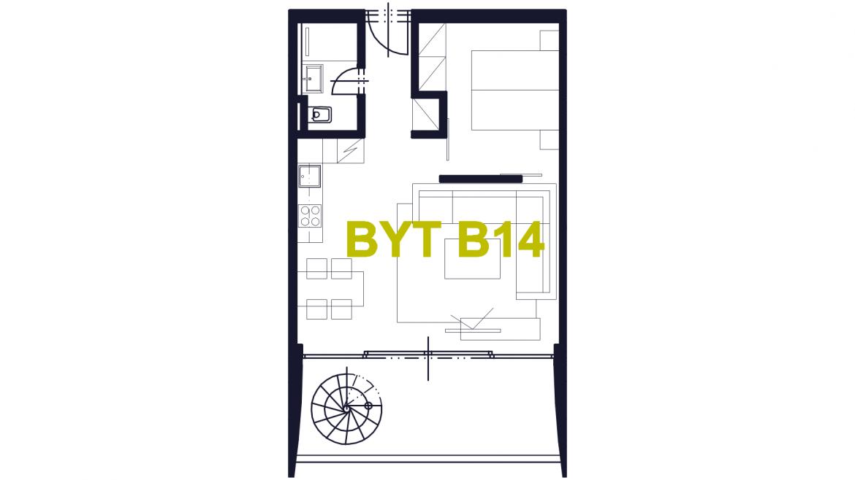 Apartmán B14