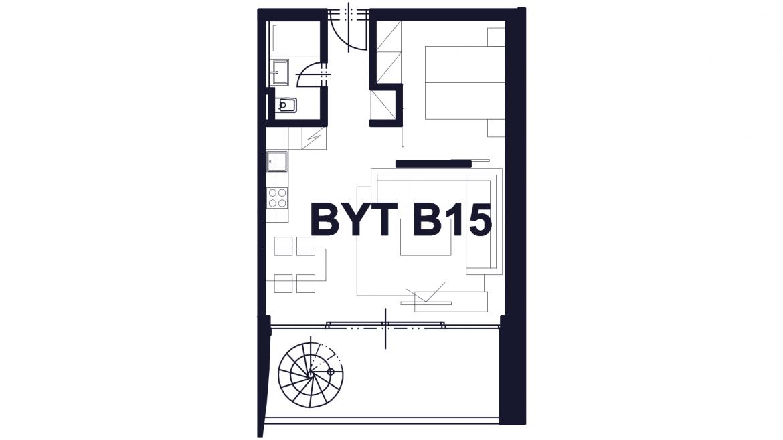 Apartmán B15