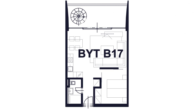 Apartmán B17