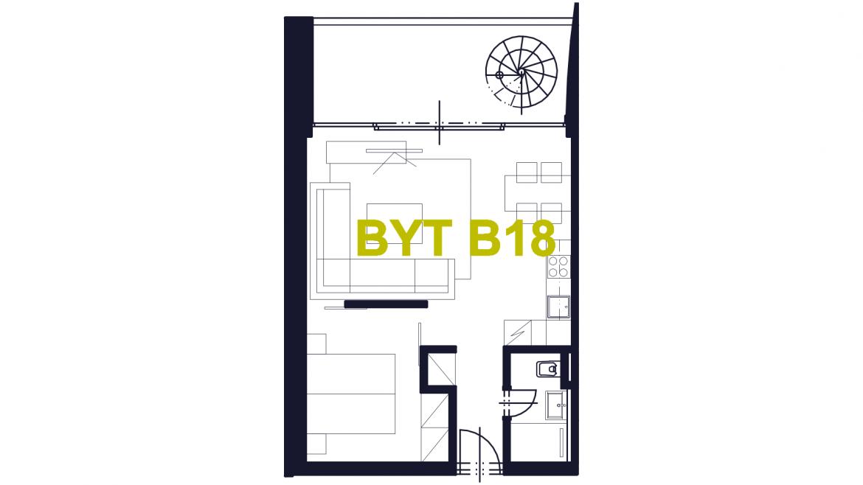 Apartmán B18