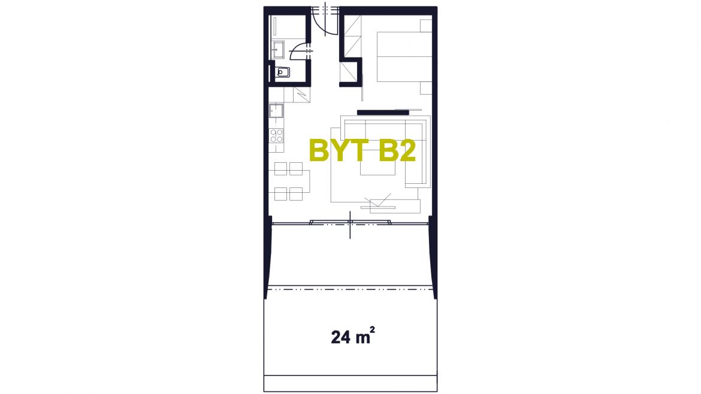 Apartmán B2