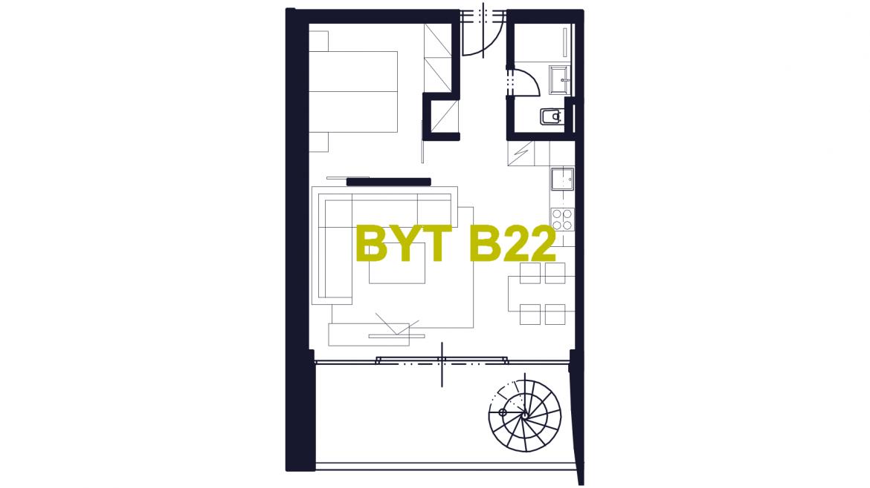 Apartmán B22