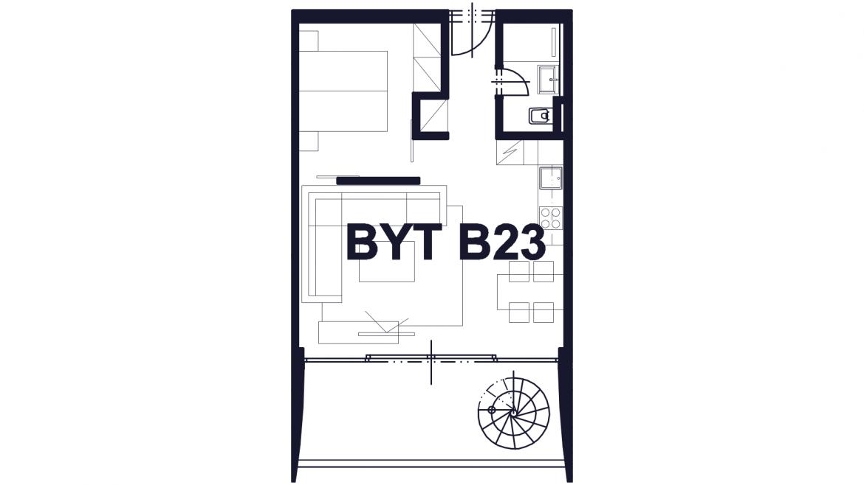 Apartmán B23