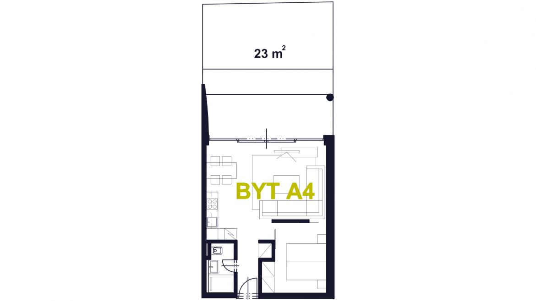 Apartmán A4