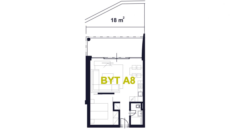 Apartmán A8